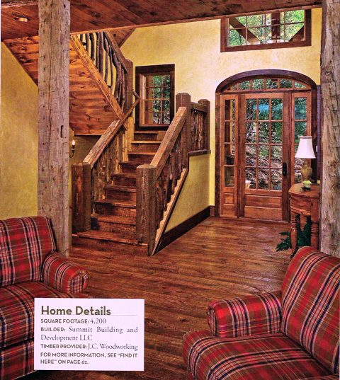 Attractive Timber Home Living Magazine