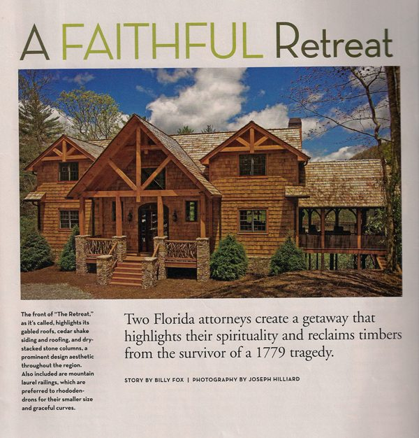 Featured In Timber Home Living
