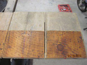 Raw Yellow Pine Flooring
