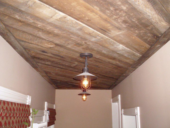 antique reclaimed brownboard barn siding old reclaimed wood pennsylvania 18944 - Reclaimed Wood Ceiling