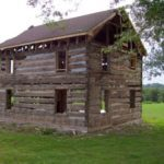 1825 Cabin in original location