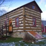 Beehive cabin after restoration