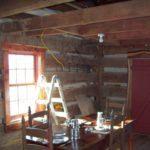 Interior after restoration