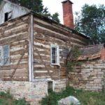 Beehive cabin in original location