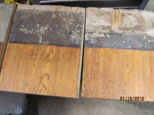 Raw Yellow Pine Flooring