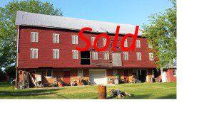 Sold little barn