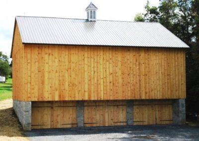 New Reproduction Barn Siding Example