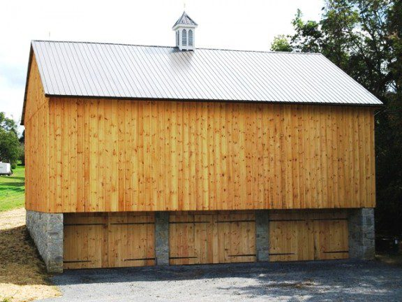 Reproduction Barn Wood Example
