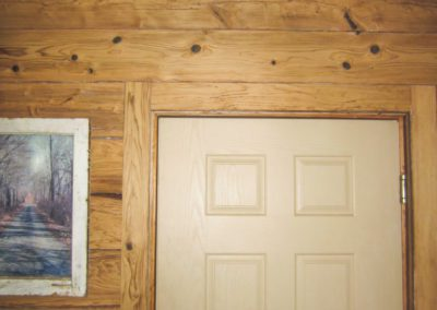 Reclaimed Quaker Board on Wall Example