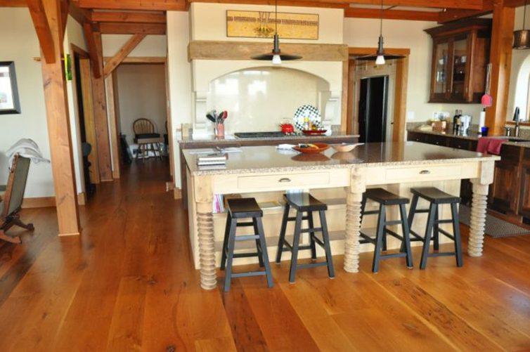 Character Grade Oak Flooring Installation