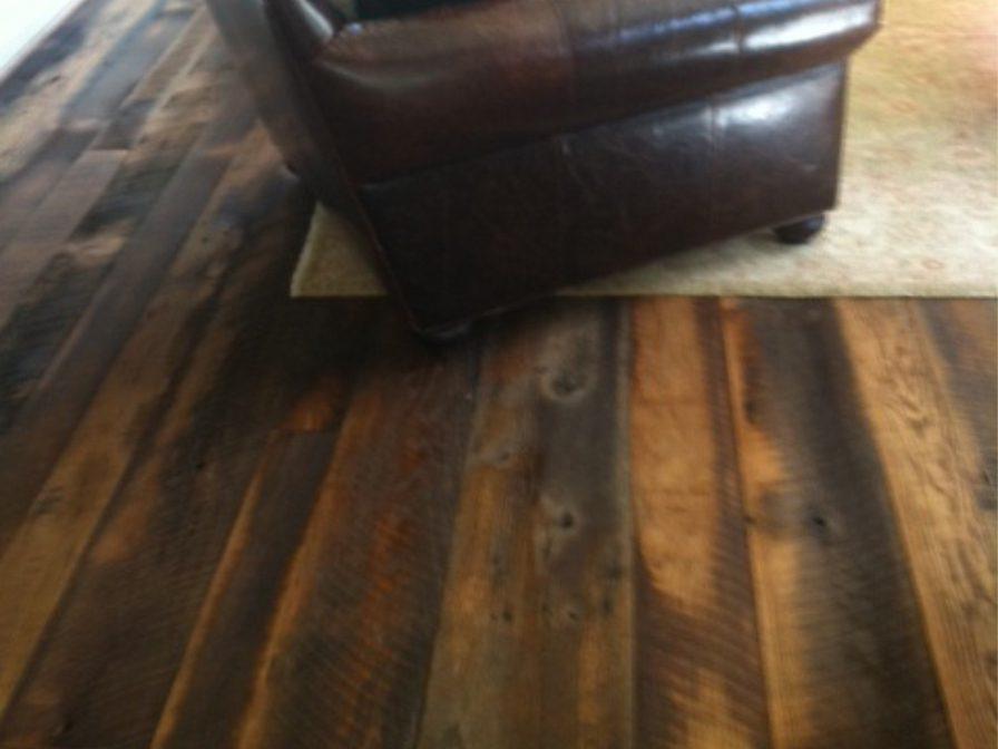 Reclaimed Skip Planed Oak Flooring