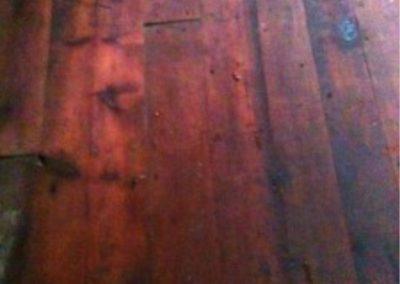 Reclaimed Yellow Pine Flooring Example