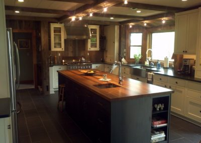 Reclaimed Wood Kitchen Example