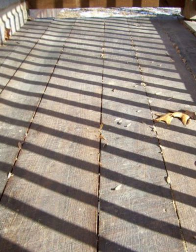 Reclaimed Threshing Flooring Example