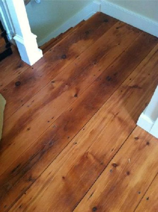 Reclaimed White Pumpkin Pine Flooring Perkasie Bucks
