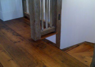 White pumpkin pine flooring