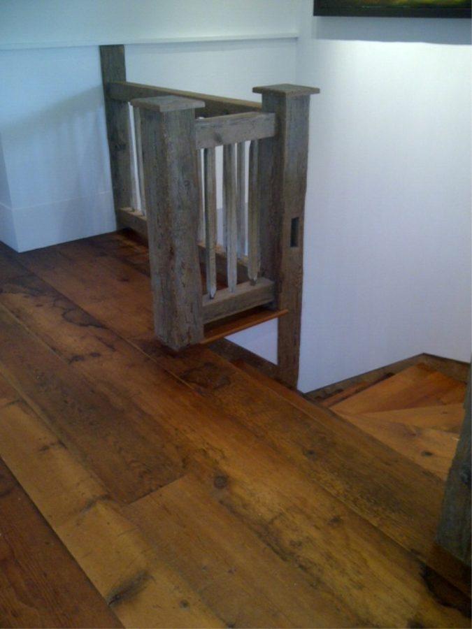 Reclaimed White Quot Pumpkin Quot Pine Flooring Perkasie Bucks