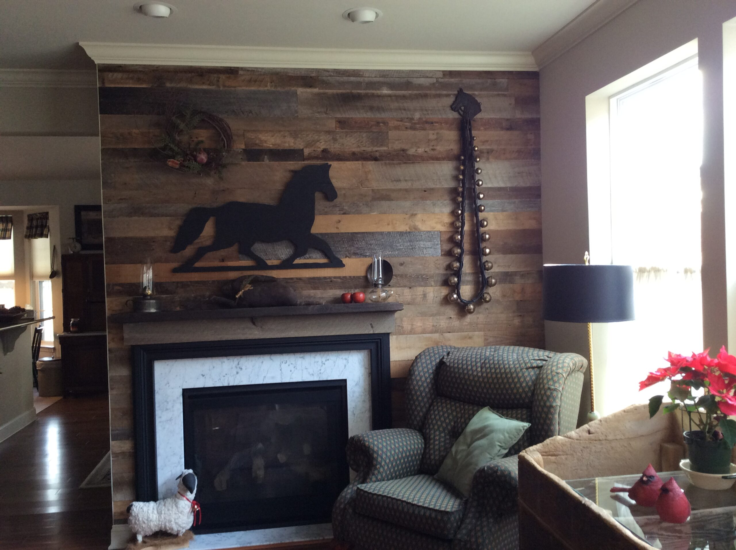 reclaimed antique softwood barn beams