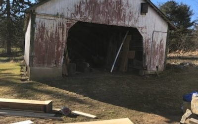 Lehigh Corn Crib