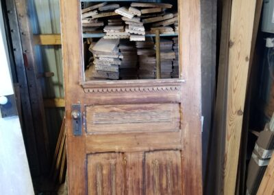 Antique front door