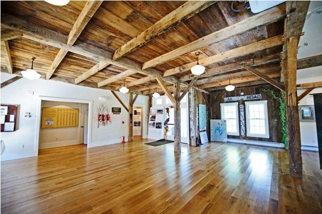 Reclaimed Original white pine flooring