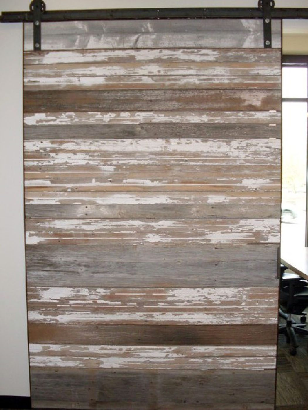 Reclaimed Painted Wood Siding Example