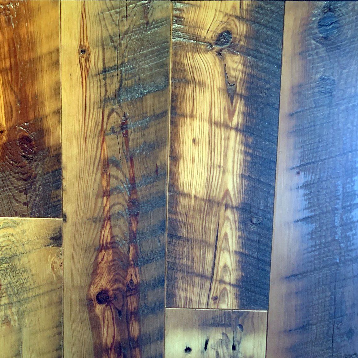 Original Yellow Pine Flooring