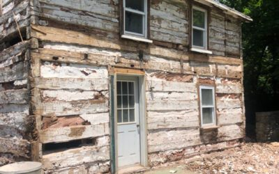 The Stauffers' Homestead Cabin